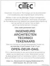 Advertentie 'Citec', Havermarkt 22 - ingang Ridderstraat 27 (uit: Het Belang van Limburg, 16-06-1990, p. 59)