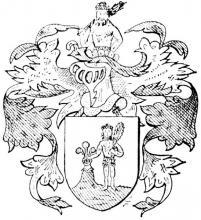 Familiewapen Haywegen (uit: Limburgse families en hun wapen (1978), p. 54)