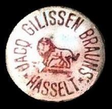 Kroonkurk bierhandel 'Jacq. Gilissen-Brauns Hasselt'