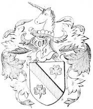 Familiewapen (de) Horion (uit: Limburgse families en hun wapen (1973)
