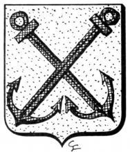 Familiewapen Jadin (uit: Het Belang van Limburg, 06-09-1975, p. 27)