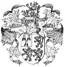 Familiewapen (de) Jamaert(s) (uit: Het Belang van Limburg, 02-10-1982, p. 41)