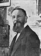 Portretfoto Auguste Javaux (1865-1916) (uit: Kunst & Erfgoed in de kijker – 46 (2015))