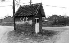 Kapel van de Kattendans (uit: Inventaris van het cultuurbezit in België (1981), fig. 960 - Frieda Schlusmans, 07-1976 - Vlaamse Gemeenschap)
