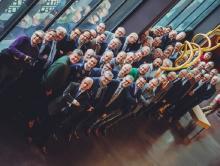 Al 125 jaar lang bestaat het Koninklijk Leesgezelschap van Hasselt uitsluitend uit mannen. Foto Raymond Lemmens (uit: Koninklijk Leesgezelschap van Hasselt doet het al 125 jaar zonder vrouwen (2018))