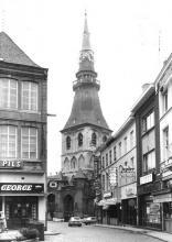 Gezicht op de Kortstraat vanuit de Grote Markt (uit: Inventaris van het cultuurbezit in België (1981), fig. 619 - Frieda Schlusmans, 11-1978 - Vlaamse Gemeenschap)