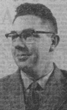 Portretfoto Paul Leenders (1921-1994) (uit: Vijftig Limburgse Profielen / Een vade-mecum zonder voorgaande (1961))