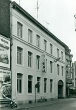 Lyceum, Lombaardstraat 16 (uit: Inventaris van het cultuurbezit in België (1981), fig. 179 - Frieda Schlusmans, 1978 - Vlaamse Gemeenschap)