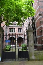 Stadstuintje, Provincieraadsgebouw, Lombaardstraat 21-23 (foto: Onroerend Erfgoed - Vlaamse Gemeenschap)