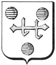 Wapenzegel Lorendops (uit: Het Belang van Limburg, 06-10-1979, p. 47)
