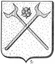 Familiewapen Maichs (uit: Het Belang van Limburg, 25-10-1975, p. 31)