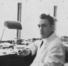 Uurwerkmaker Albert Moermans (1918-1952) (privécollectie)