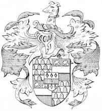 Familiewapen Nagels (uit: Het Belang van Limburg, 24-07-1982, p. 29)