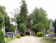 Oud Kerkhof, Kempische Steenweg (foto: Annemie America, 2006)