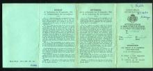 Familie Trippas, inschrijvingsbewijs Peter Trippas, recto (foto: privécollectie)