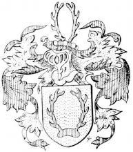 Familiewapen Ridderbeecks (uit: Limburgse families en hun wapen (1978), p. 89)