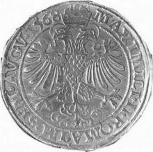Rijksdaalder, geslagen in Hasselt, 1564-1580 (prins-bisschop Gerard van Groesbeek als graaf van Loon), 1568, zilver (collectie Het Stadsmus Hasselt)