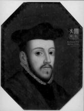 Prins-bisschop Robert van Bergen (ca. 1520-1565), olieverfportret (collectie Bisdom Luik)