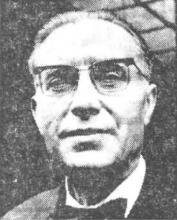Portretfoto Ernest Roose (1887-1965) (uit: In memoriam: De h. Ernest Roose / stichter en onder-voorzitter van de Hasseltse Zwemvereniging (1965))