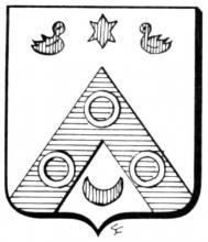 Familiewapen Schaebergh (uit: Het Belang van Limburg, 15-02-1975, p. 31)