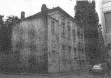 Het Schuttershof, pand hoek Kleine Ridderstraat - Ridderstraat (uit: Inventaris van het cultuurbezit in België (1981), fig. 728bis - Frieda Schlusmans, 09-1975 - Vlaamse Gemeenschap)