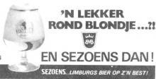Advertentie 'Limburgs bier..op zijn best!' (uit: Het Belang van Limburg, 15-02-1984, p. 3)