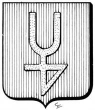 Wapen Joannes Sigers-Jackers (uit: Het Belang van Limburg, 08-02-1975, p. 33)