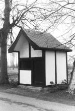 Kapel Onze-Lieve-Vrouw in Nood, Singelbeekstraat (uit: Inventaris van het cultuurbezit in België (1981), fig. 836 tris - Frieda Schlusmans, 1975 - Vlaamse Gemeenschap)