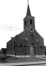 Sint-Amanduskerk, Sint-Amandusstraat 4 (uit: Inventaris van het cultuurbezit in België (1981), fig. 936 - Frieda Schlusmans, 03-1976 - Vlaamse Gemeenschap)
