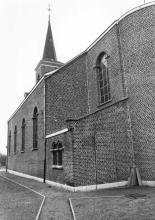 Sint-Amanduskerk, Sint-Amandusstraat 4 (uit: Inventaris van het cultuurbezit in België (1981), fig. 936 bis - Frieda Schlusmans, 03-1976 - Vlaamse Gemeenschap)