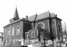 Sint-Martinuskerk Stevoort (uit: Inventaris van het cultuurbezit in België (1981), fig. 252bis - Frieda Schlusmans, 03-1976 - Vlaamse Gemeenschap)