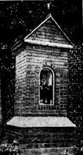Kapelleke Onze-Lieve-Vrouw (uit: Het Belang van Limburg, 05-05-1950, p. 4)