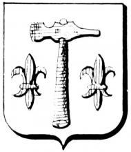 Familiewapen Smeets (Kuringen) (uit: Het Belang van Limburg, 22-09-1979, p. 43)