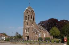 Onze-Lieve-Vrouw-Boodschapkerk (uit: Kerken en Kapellen - Parochie Spalbeek (2006))
