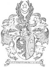 Familiewapen Stellingwerff (uit: Limburgse families en hun wapen (1973), p. 99)