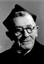 Portretfoto Hubert Hechtermans (1879-1961), pastoor Stevoort (1942-1958) (uit: Stevoort ... warm aanbevolen (2002), p. 27)