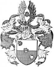 Familiewapen Strauven (uit: Limburgse families en hun wapen (1973), p. 101)