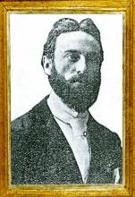 Portretfoto Djef Swennen (1871-1905) (uit: Hasseltse Portretten (1997), p. 80)