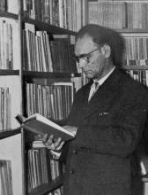 Portretfoto Lambert Swerts (1907-1980) (uit: Website Schrijversgewijs - Vlaamse schrijvers 1830 tot heden)