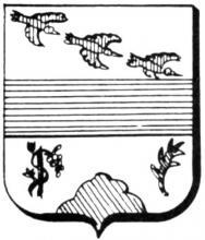 Familiewapen Tombal (uit: Het Belang van Limburg, 14-04-1979, p. 47)