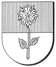 Familiewapen van Vinckenroye (uit: Oog in Oog (2003), p. 190)