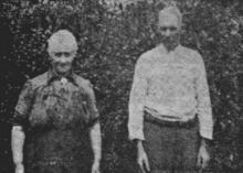Het echtpaar Metten-Clemens is nog jonger, maar eveneens van een sterke kloeke stam (uit: Waar de Heksen hun Bezems huurden… / Zeven der laatste Bezembinders van Kiewit tellen samen 559 Jaar (1953), p. 1)