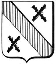 Familiewapen Martinus Wouters, augustijn (uit: Het Belang van Limburg, 17-05-1975, p. 31)