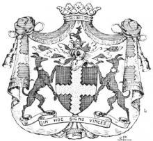 Familiewapen de Geloes (uit: Het Belang van Limburg, 07-08-1982, p. 33)
