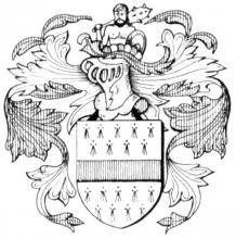 Familiewapen de la Court (uit: Het Belang van Limburg, 12-06-1982, p. 41)