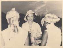Familie De Wilde, vertrek van prinses Lilianne uit Stanleyville 6 april 1959, foto 1 (foto: privécollectie)
