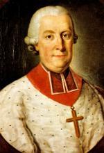 Prins-bisschop Frans Karel van Velbrück (1716-1771), olieverfportret (collectie Musée de l'Art Wallon Luik)